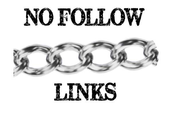 What is a no-follow link