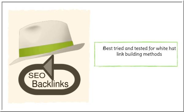 Best tried and tested for link building methods