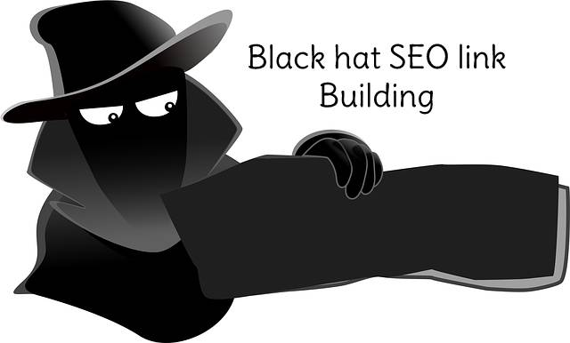 Black hat SEO link building