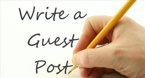 Posting on a guest blog