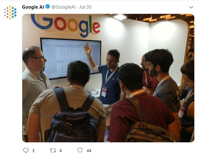 Google AI algorithms