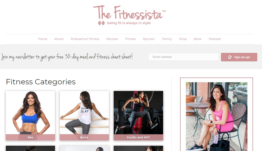 Look for bloggers who write about healthy eating or fitness food