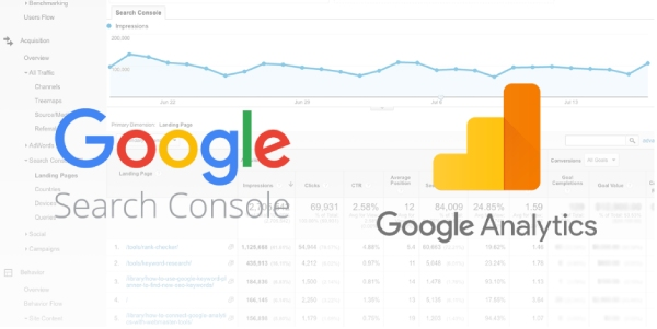 Pay attention to Google Analytics and Search Console
