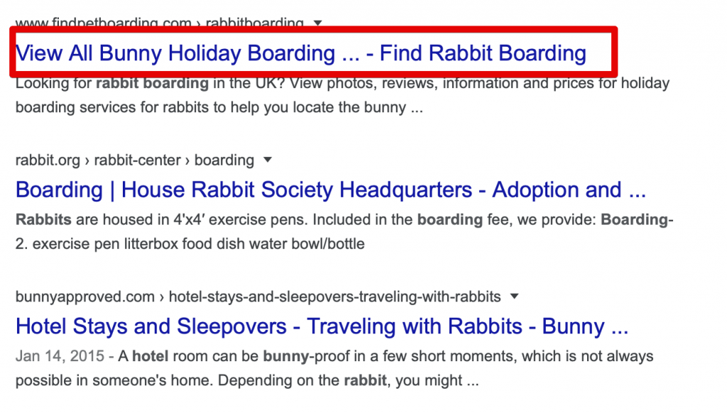 page titles & Seo